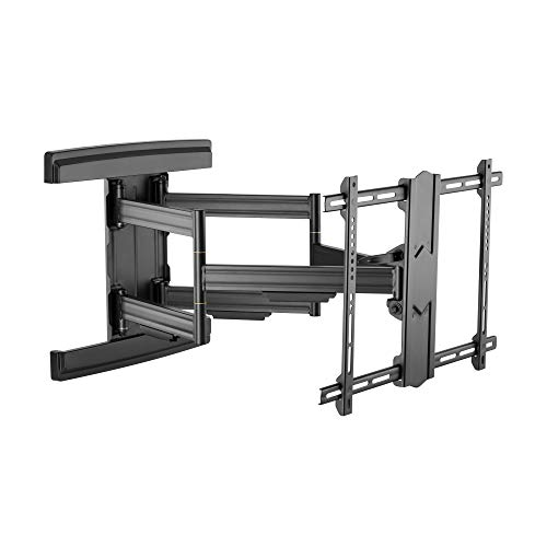 RICOO S7564-B TV Wandhalterung Schwenkbar Neigbar Universal 37-80 Zoll (94-203cm) Halterung Curved LCD LED Fernseher VESA 300x200-600x400