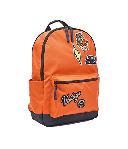 Fossil Sport Orange Backpack for Men MBG9516820