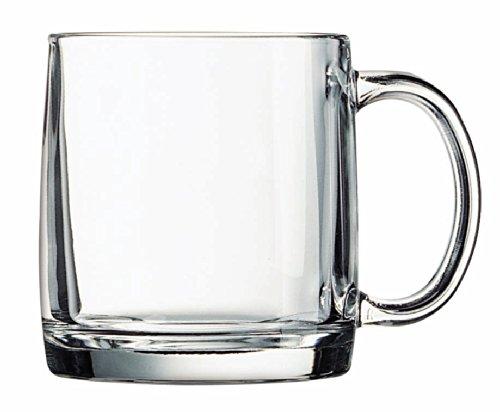 Arc International Luminarc Nordic Mug, 13-Ounce, Set of 4