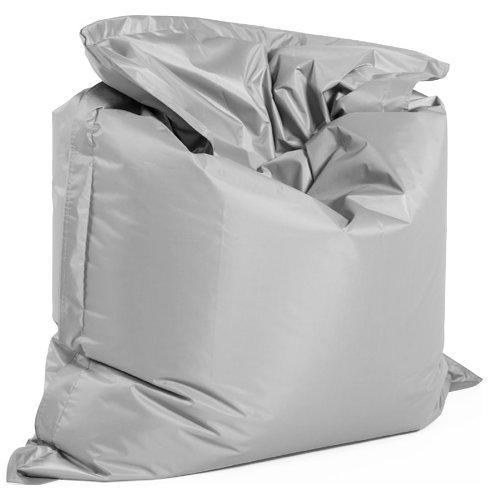 Alterego - Pouf géant 'LAZY' gris 180x140cm