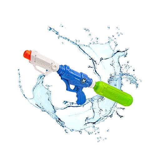 WASSERPISTOLE WASSERSPRITZPISTOLE WASSER BLASTER ZURU X-SHOT TORNADO TIDE Riesiger Tank bis zu 2 Liter - Funktioniert mit Eiswürfeln - Kann an alle PET Flaschen angeschlossen werden