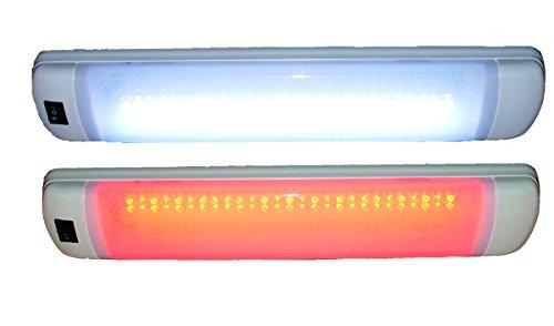 Aqua Signal LED Multi-Usage éclairage Intérieur, Rouge/Blanc