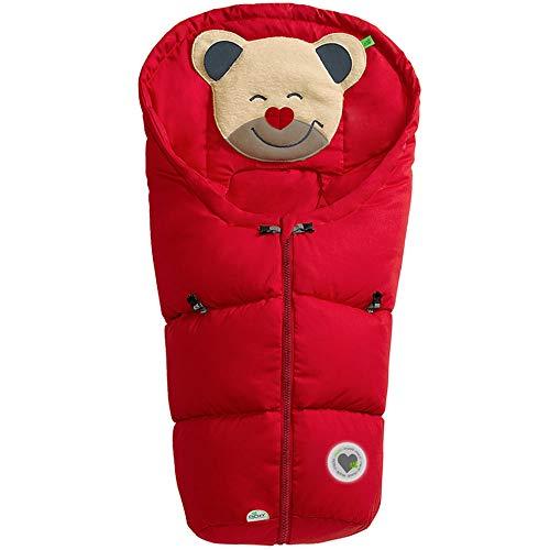 Odenwälder Mucki Classic - Saco de dormir, color rojo