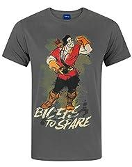 Disney Camiseta para Hombre Beauty and The Beast Gaston