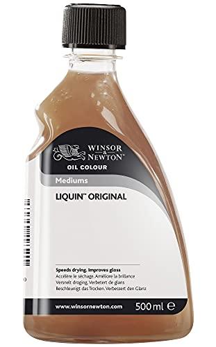 W&N Liquin Fast Dry Oil/Alkyd Painting Medium 500ml (16.9oz) bottle