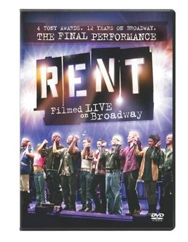 Rent: Filmed Live on Broadway [DVD] [2005] [Region 1] [US Import] [NTSC]