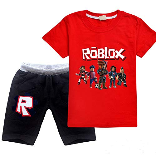 Jungen Hoodies Mädchen Kinder Outfits Cartoon Charaktere Pullover Baumwolle Sweatshirt Hose Kleidung Sets Gr. 7-8 Jahre, Red02
