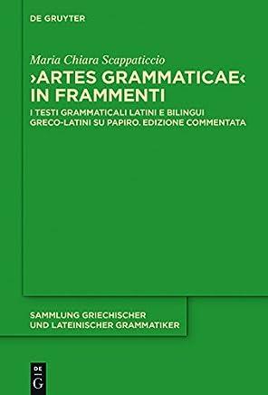 Artes Grammaticae in frammenti: I testi grammaticali latini e bilingui greco-latini su papiro. Edizione commentata (Sammlung griechischer und lateinischer Grammatiker Vol. 17)