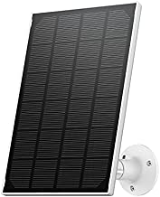 ZUMIMALL Solar Panel for Outdoor Security Camera F5/F5K/CG1/Q1PRO/GX1S/GX2S, Waterproof Solar Panel with 10ft Charging Cable ( No Camera)