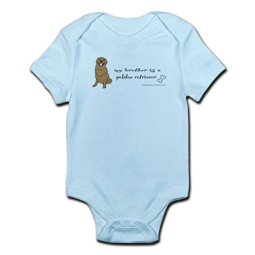 ABADI Body de bebé Golden Retriever