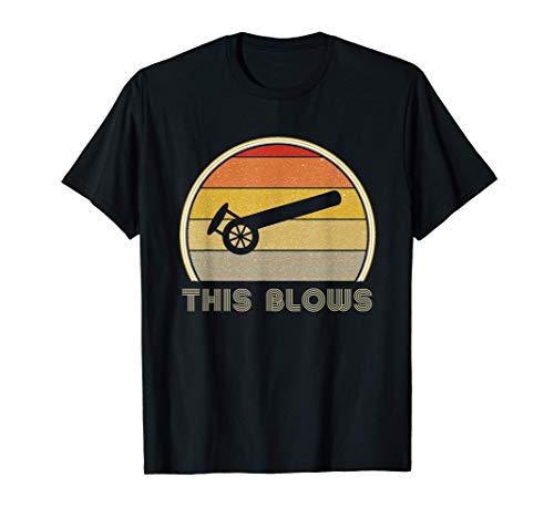 Mens Funny Leaf Blower Shirt Landscaping Gifts For Men 2020 Sucks T-Shirt