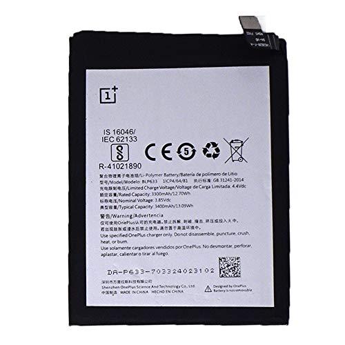 Batería Original OnePlus 3300 mAh 12,70 WH One Plus OnePlus 3T 3T Bulk BLP633