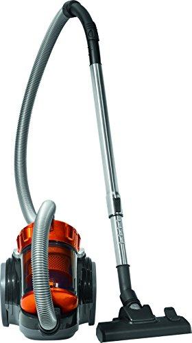 radio de acci/ón 8.3 metros Antracita y Naranja 700 W Pl/ástico Clatronic BS 1302 Aspiradora cicl/ónica sin bolsa potente 85 Decibelios