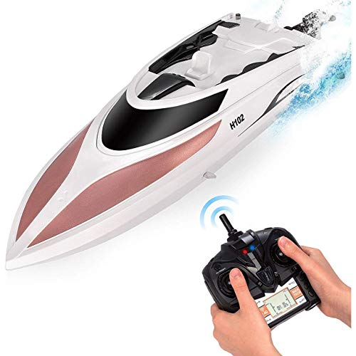 Remote Control Boat for Kids and Adults 20 MPH Speed $49.99 (44% OFF)