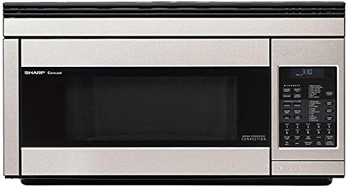 Sharp R-1874TY Over-the-Range Microwave Oven with 1.1 cu. ft. Capacity 850 Cooking Watts in Stainless