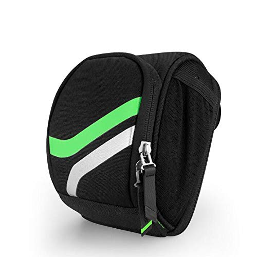 Y & Z Portable Bicycle Handlebar Bag, Mountain Bike Front Head Package Front Bag Riding Equipment Accessories,Greenway