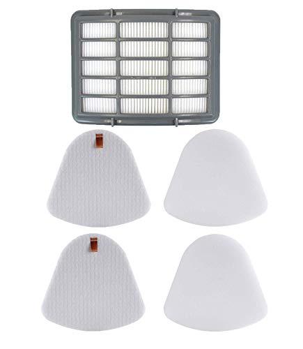 XIMOON 1 Hepa Filter + 2 Pack Pre-filter Foam & Felt Replacements for Shark XFF350 XHF350 Navigator Lift-Away NV350, NV351, NV352, NV355, NV356, NV356E, NV357, NV360, NV370, UV440, UV540