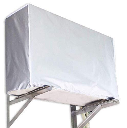 Annhao Copertura Condizionatore impermeabil, Condizionatore d' aria copertura antipolvere per la casa D'aria All'aperto Anti Polvere Anti-neve Sunproof Outdoor Coperchio Protezione(94 * 40 * 73cm)