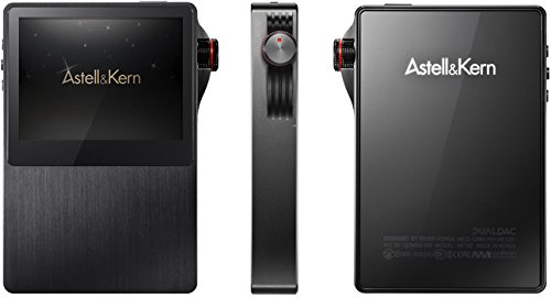 Astell&Kern AK120 – MP3/MP4-Player (MP3-Player, 64 GB, LED, 3,5 mm, 143 g, schwarz)