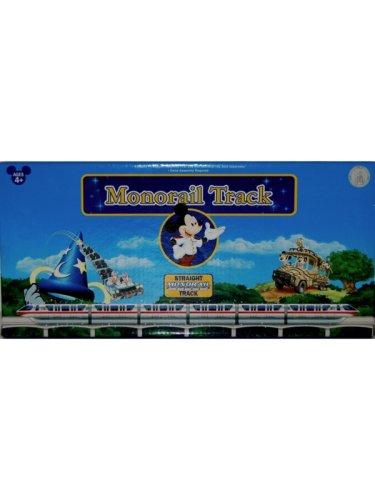 NEW Disney Monorail Train Straight Track Accessory Kit Theme Park Exclusive Walt Disney World