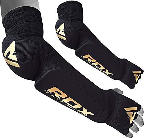 RDX Avambraccio Pads Protecter di Sostegno del Gancio Supporto Gomitiere Protezione MMA Imbottito Protezione