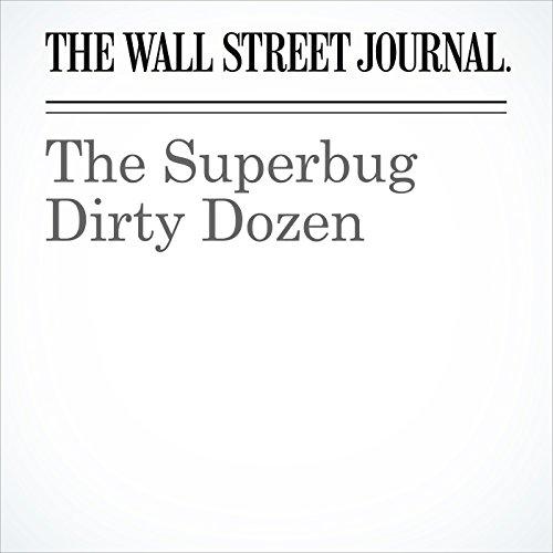 The Superbug Dirty Dozen copertina