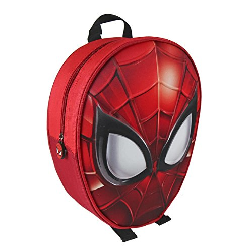 Marvel Spiderman 2100001970 - Visage 31 cm 3D EFFET sac à dos junior