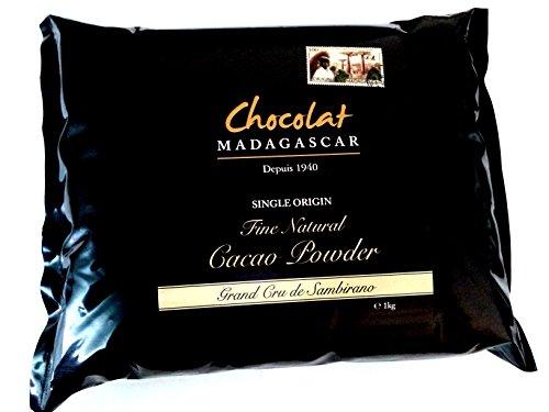 Chocolat Madagascar 'Grand Cru de Sambirano' Polvere di Cacao Non Alcalinizzato 1kg