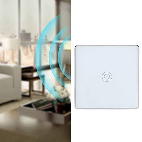 Huairdum Interruptor de luz táctil, Interruptor táctil de Pared con Interruptor táctil para escenas Inteligentes para el hogar Inteligente