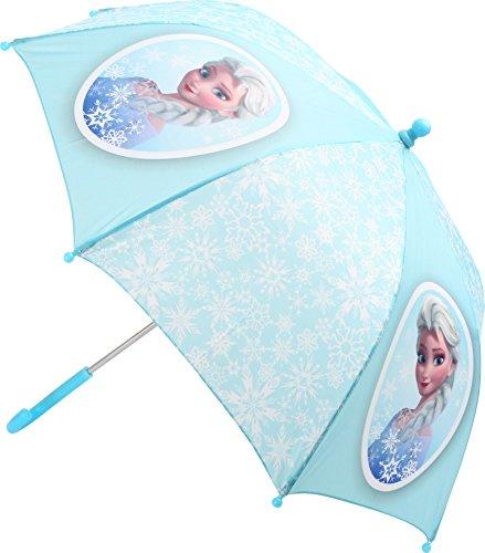 Compatibel met Frozen – paraplu – Elsa – ijskoningin – de handgreep is voor kinderhanden precies goed zodat de paraplu ook bij sterkere wind veilig kan worden vastgehouden. (Elsa)