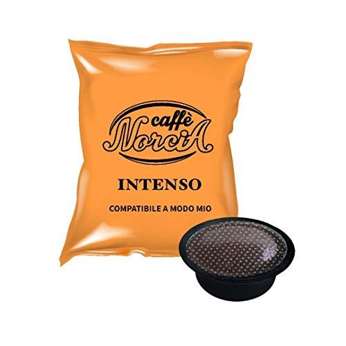 Caffè Norcia Miscela Intenso-Capsule Compatibili Lavazza A Modo Mio - 100 Pezzi