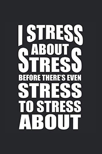 Carnet De Notes: Stress Yoga Burnout Sarcastique Drôle Cadeau 120 Pages, 6X9 (Environ A5), Quadrillé