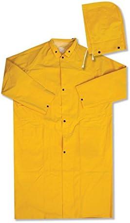 ERB 14360 4148 PVC Raincoat, Yellow, Medium