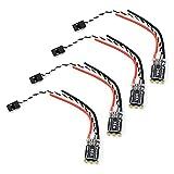 XTVTX 4 UDS 35A BLHeli-S Controlador de Velocidad electrónico ESC sin escobillas Soporta DShot 150/300/600 para FPV Drone Multicopter Quadcopter