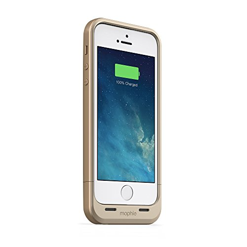 I Phone 5/5S Battery Case (2,100MAH) Gold Portable Charger