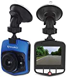 Aduro U-Drive Pro HD DVR Dash Cam 1080P Dash Camera for Cars Wide Angle Car Camera with WDR, G-Sensor, Loop Recording and Motion Detection Blue