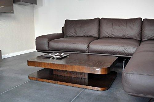Carl Svensson Design Couchtisch MV-1 Ecken abgerundet 4 (Walnuss-Wenge)