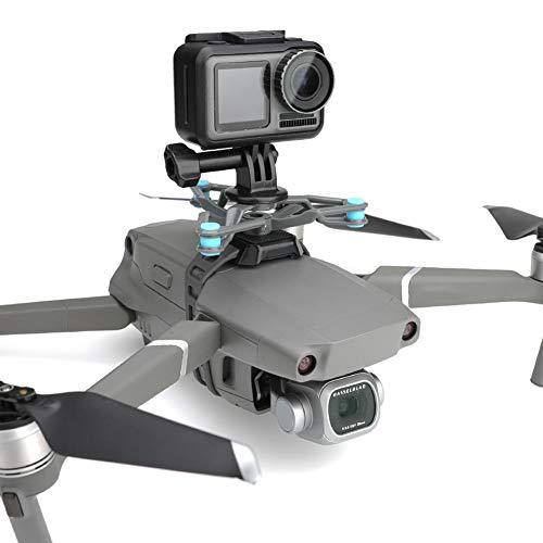 YYWJ Drohnen-Kamera-Halterung, Gimbal-Halterung, stoßdämpfende Halterung mit Adapter, Metall, Multifunktions-Drohnenzubehör, nicht null, Siehe Abbildung, Free Size