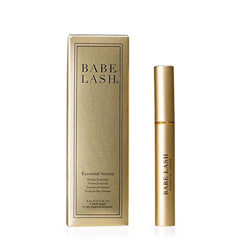 Babe Lash Eyelash & Brow Enhancer Serum for Natural, Fuller & Longer Looking Eyelashes - Eyelash...