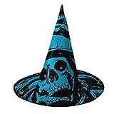 Disfraz unisex de bruja de Halloween, disfraz de astronautas, cráneo de pulpo, galaxia, accesorio de cosplay, accesorio de mascarada para niños, hombres, mujeres, negro