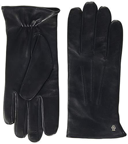 Roeckl Herren Klassiker Wolle Handschuhe, Schwarz (Classic navy 559), 8.5
