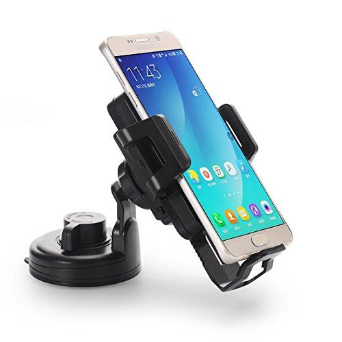hanende Inalámbrico Cargador de Coche, Qi Carga Inalámbrica Pad Montado en Vehículos para Samsung Galaxy S8 S8 Plus S7 S7 Borde S6 S6 Edge Note5 S6 Edge Plus y Otros teléfonos Qi