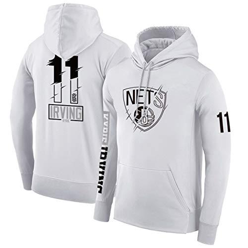 HYF Sudadera con Capucha de Baloncesto Brooklyn Nets Durant Irving, Sudadera Casual