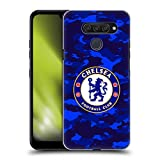 Official Chelsea Football Club Camouflage Crest Hard Back