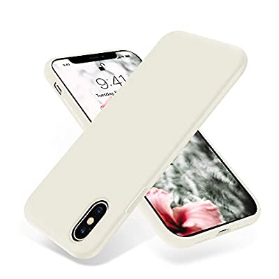 OTOFLY Liquid Silicone Gel Rubber Full Body Protection Shockproof Case for iPhone Xs/iPhone X?Anti-Scratch&Fingerprint Basic-Cases?Compatible with iPhone X/iPhone Xs 5.8 inch (2018),