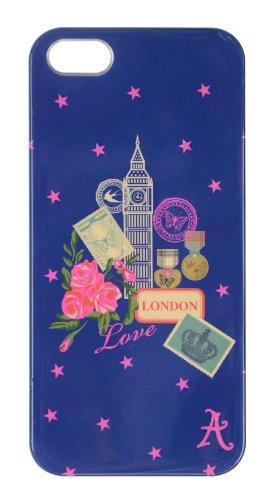 Accessorize 730649 - Custodia a Conchiglia per iPhone 5, Motivo London