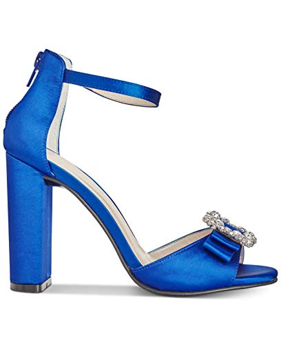Caparros Womens Pasha Open Toe Ankle Strap D-Orsay Pumps
