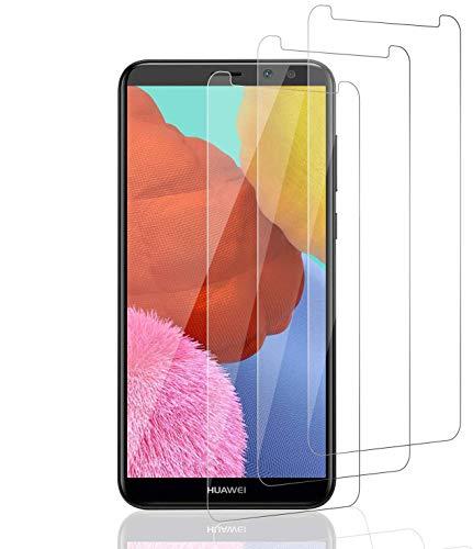 Aspiree 3 Stück Schutzfolie kompatibel für Huawei Mate 10 Lite, HD Displayschutzfolie/Panzerfolie, Tempered Glas Schutzglas, Anti-Kratzer/Bläschen/Fingerabdruck/Staub Panzerglasfolie für Mate 10 Lite