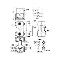 パナソニック(Panasonic) コスモシリーズワイド21 埋込高シールドテレビターミナル2端子 フィルタ付 ベージュ WCS3650FK