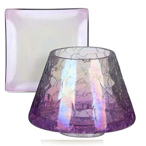 Yankee Candle, set di accessori in vetro, multicolore, 9 cm